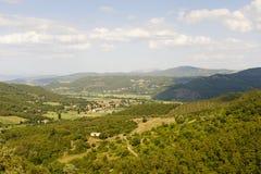 Landschap in Toscanië royalty-vrije stock fotografie