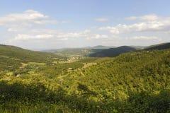 Landschap in Toscanië royalty-vrije stock foto