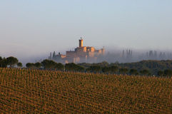 Landschap, Toscanië royalty-vrije stock afbeelding
