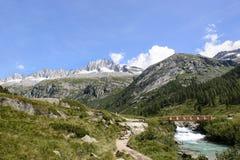 Landschap in Trentino Italië Stock Foto's