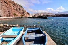 Landschap in Tropische Vulkanische Canarische Eilanden Spanje Royalty-vrije Stock Afbeeldingen