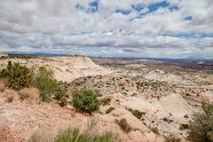 Landschap in Utah Stock Afbeeldingen