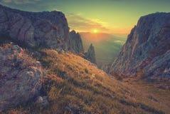 Landschap V van de Krim Royalty-vrije Stock Foto's