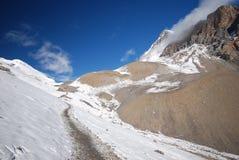 Landschap van Annapurna, Nepal Stock Afbeeldingen