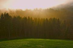 Landschap van berg Royalty-vrije Stock Afbeeldingen