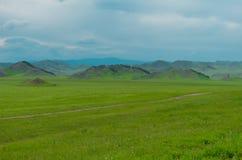 Landschap van berg Altai Royalty-vrije Stock Foto's