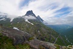 Landschap van bergen Royalty-vrije Stock Afbeeldingen