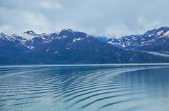 Landschap van Bergen en Water in Alaska Royalty-vrije Stock Afbeeldingen
