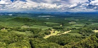 Landschap van Bezdez-Kasteel Royalty-vrije Stock Fotografie