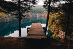 Landschap van Blauw Greepstekkie royalty-vrije stock foto