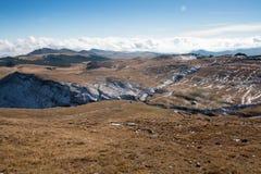 Landschap van Bucegi-Bergen Royalty-vrije Stock Afbeelding