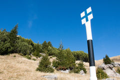 Landschap van Bucegi-Bergen Royalty-vrije Stock Afbeeldingen