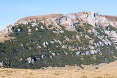 Landschap van Bucegi-Bergen Stock Foto
