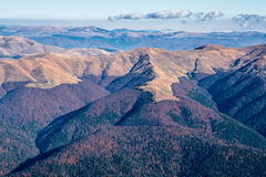 Landschap van Bucegi-Bergen Stock Foto's