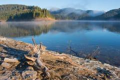 Landschap van Bucegi-Bergen Royalty-vrije Stock Foto's
