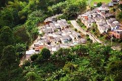 Landschap van Buenavista-stad, Quindio royalty-vrije stock afbeelding