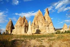 Landschap van Cappadocia Royalty-vrije Stock Afbeeldingen