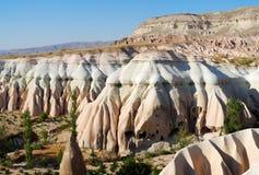 Landschap van Cappadocia Stock Afbeeldingen