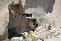 Landschap van Cappadocia, Turkije Stock Foto