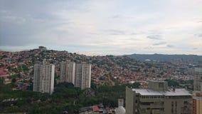 Landschap van Caracas stock fotografie