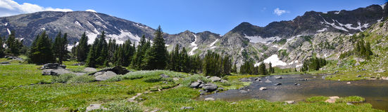 Landschap van Colorado, de V.S. Royalty-vrije Stock Foto's