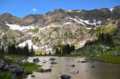 Landschap van Colorado, de V.S. Royalty-vrije Stock Afbeelding