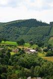 Landschap van Coo, België royalty-vrije stock afbeelding