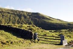 Landschap van de Azoren, Portugal Stock Foto