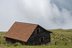 Landschap van de berg Stock Afbeelding