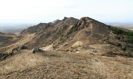 Landschap van de berg in de herfstseizoen royalty-vrije stock fotografie