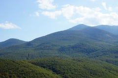 Landschap van de bergen van de Krim Royalty-vrije Stock Foto