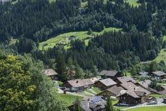 Landschap van de bergenalpen Royalty-vrije Stock Foto