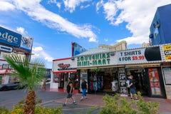 Landschap van de Boulevard van Las Vegas Stock Afbeeldingen
