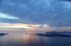 landschap van de eiland en het overzeese aard Stock Afbeelding