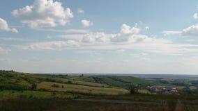 Landschap van de hoogte van het landschap stock video