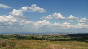 Landschap van de hoogte van het landschap stock videobeelden