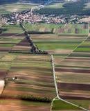 Landschap van de lucht royalty-vrije stock fotografie
