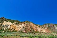 Landschap van de staat van Utah royalty-vrije stock afbeeldingen
