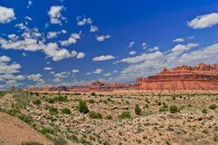 Landschap van de staat van Utah stock foto