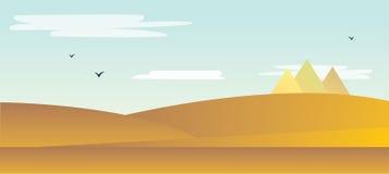 Landschap van de woestijn Royalty-vrije Stock Fotografie