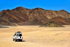 Landschap van de woestijn van de Sahara Royalty-vrije Stock Afbeeldingen