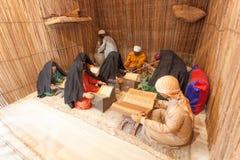 Landschap van een bedouin school Stock Fotografie