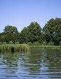 Landschap van een open water Stock Foto's