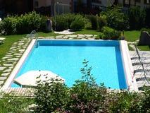 Landschap van een pool Royalty-vrije Stock Foto