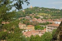 Landschap van een Verona heuvel Royalty-vrije Stock Fotografie