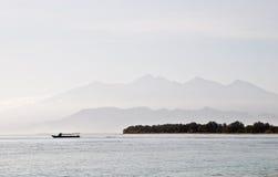 Landschap van Eiland Lombok Royalty-vrije Stock Afbeelding