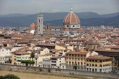 Landschap van Florence royalty-vrije stock fotografie