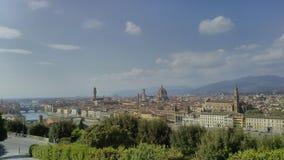 Landschap van Florence, Toscanië, Italië Royalty-vrije Stock Afbeelding