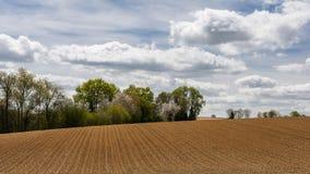 Landschap van Franse Vexin Stock Foto