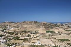 Landschap van Gozo Royalty-vrije Stock Afbeelding